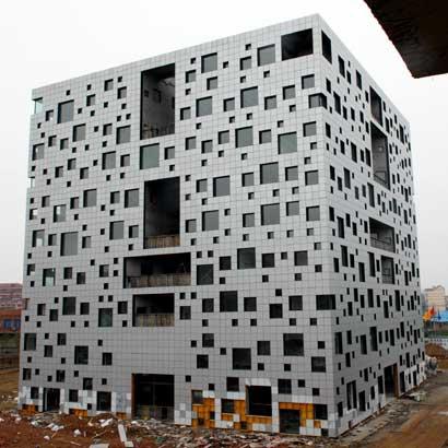 Mô hình tòa nhà dự kiến có 1000 cửa sổ tại Trung Quốc